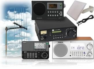 Shortwave, AM, FM and Internet Radio