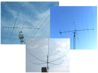 HF Yagi, HEXX Beam and Rotatable Antennas