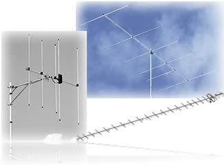 VHF/UHF Beam and Yagi Antennas at DX Engineering