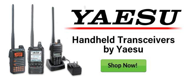 Handheld Transceivers by Yaesu