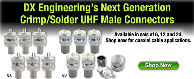 UHF Male Connectors