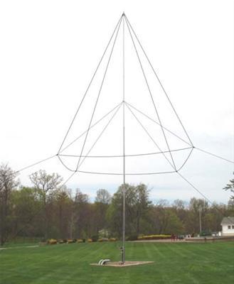 DX Engineering 160 Meter THUNDERBOLT® Vertical Antennas DXE-160VA-1