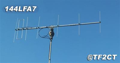 EAntenna VHF and UHF Directional Antennas 144LFA7