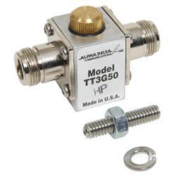 Alpha Delta ATT3G50HP - Alpha Delta N Connector Coaxial Cable Surge Protectors