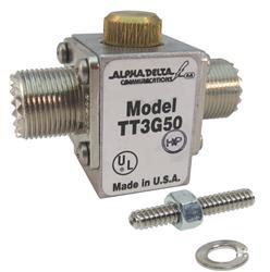 Alpha Delta ATT3G50UHP - Alpha Delta UHF Connector Coaxial Cable Surge Protectors