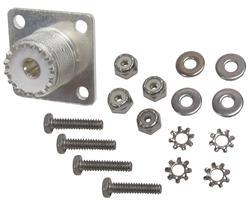 DX Engineering DXE-112-KIT - DX Engineering Chassis Mount Coaxial Connectors