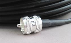 DX Engineering DXE-8XDX1-5 - DX Engineering RG-8X PL-259 Low-Loss 50-ohm Coax Cable Assemblies