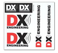 DX Engineering Decal Sheets DXE-DECALSHEET - Free Shipping on Most