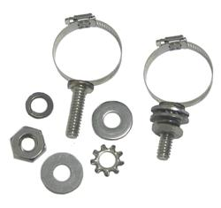 DX Engineering DXE-ECLS-050 - DX Engineering Stainless Mounting Clamps with Studs