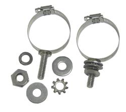 DX Engineering DXE-ECLS-087 - DX Engineering Stainless Mounting Clamps with Studs