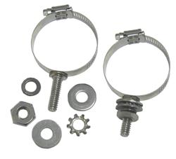 DX Engineering DXE-ECLS-100 - DX Engineering Stainless Mounting Clamps with Studs