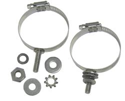 DX Engineering DXE-ECLS-125 - DX Engineering Stainless Mounting Clamps with Studs