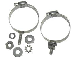 DX Engineering DXE-ECLS-150 - DX Engineering Stainless Mounting Clamps with Studs