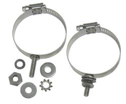 DX Engineering DXE-ECLS-200 - DX Engineering Stainless Mounting Clamps with Studs