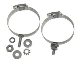 DX Engineering DXE-ECLS-225 - DX Engineering Stainless Mounting Clamps with Studs