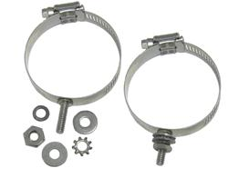 DX Engineering DXE-ECLS-250 - DX Engineering Stainless Mounting Clamps with Studs