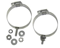 DX Engineering DXE-ECLS-275 - DX Engineering Stainless Mounting Clamps with Studs