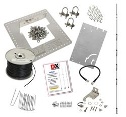 DX Engineering DXE-HSR-6BTV-P1 - DX Engineering 6BTV 6-Band High Performance HF Vertical Antenna Systems