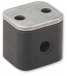 DX Engineering DXE-RSB-I03125 - DX Engineering Resin Support Block Clamps