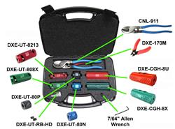 DX Engineering DXE-UT-KIT4 - DX Engineering UT-KIT4 Complete Coax Cable Tool Kits