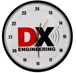 dx engineering dx engineering 24 hour wall clock