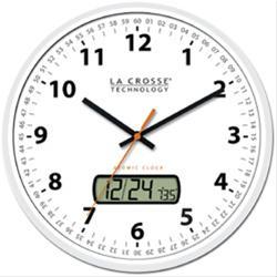 La Crosse Technology Wall Clocks Wt 3128u Wh Free