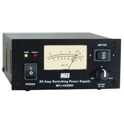 MFJ 4230MV MightyLite 30 Amp Switching Power Supplies MFJ-4230MV