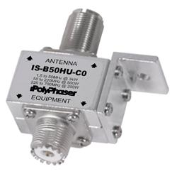 PolyPhaser IS-B50HU-C0 - PolyPhaser Coaxial Lightning Protectors