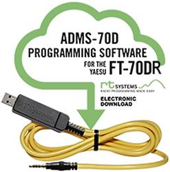 RT Systems Radio Programming Software ADMS-70D-USB