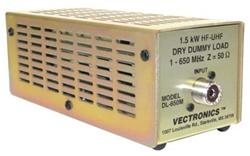 Vectronics DL650M - Vectronics DL-650M Dummy Loads