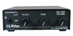 West Mountain Radio CLR-DSP - West Mountain Radio ClearSpeech DSP Noise Reduction Processors