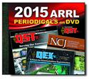 Click here for more information about ARRL's 2015 Periodicals DVDs