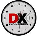 Click here for more information about DX Engineering 24 Hour Wall Clocks