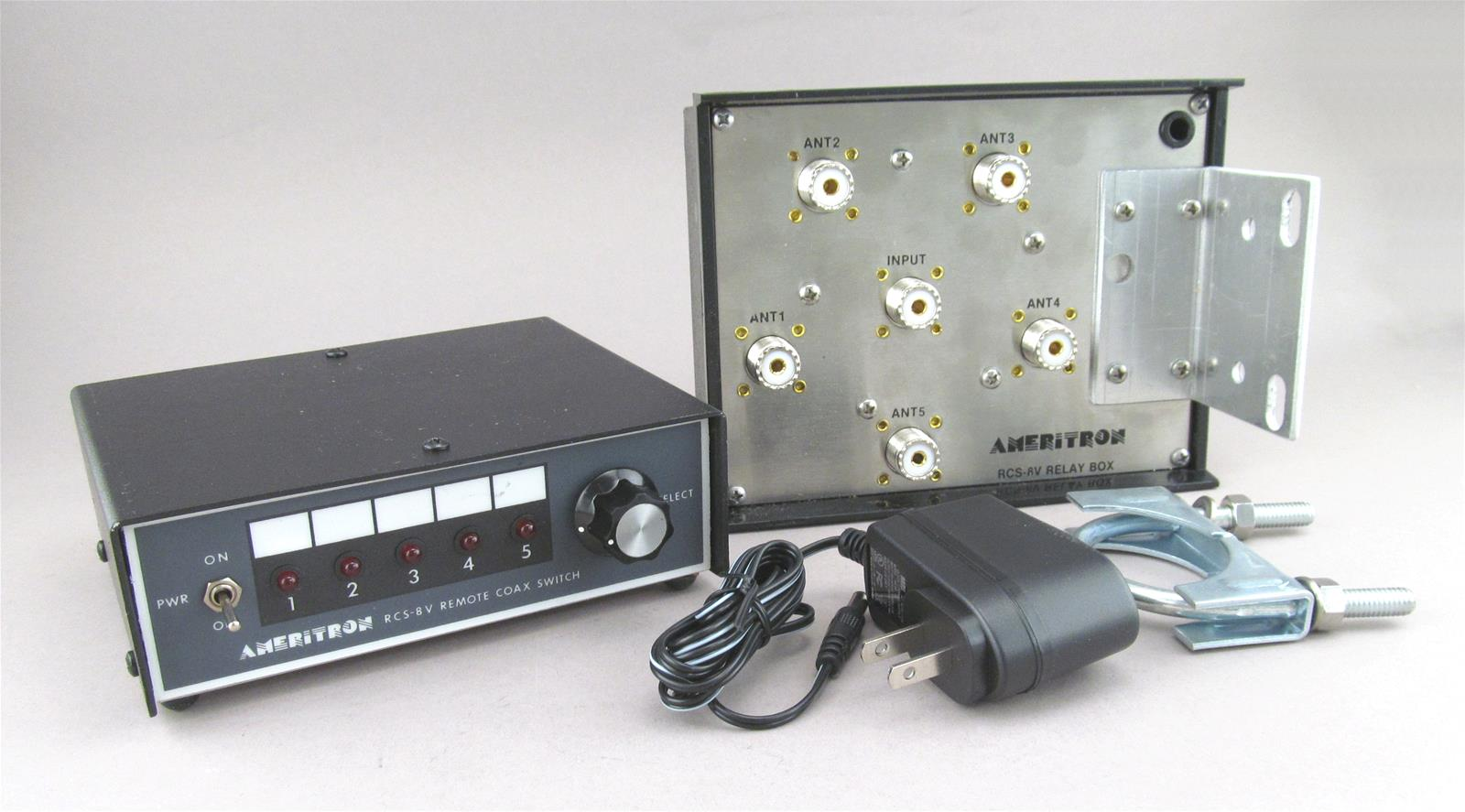 Ameritron RCS-8V Remote Coax Switches RCS-8V - Free Shipping