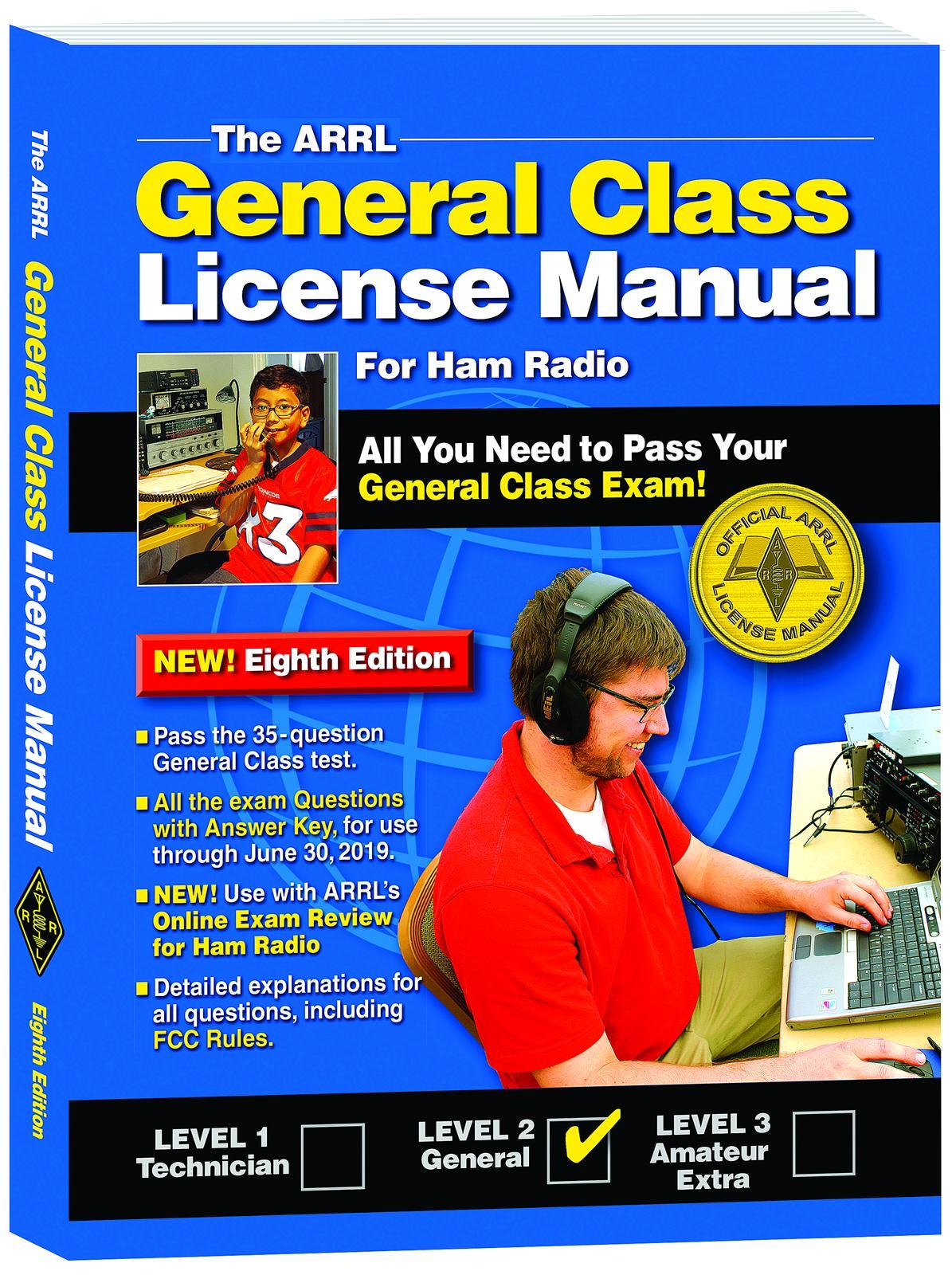 arrl s general class license manual 8th edition 0307 free shipping rh dxengineering com arrl license manual 3rd edition arrl technician license manual pdf