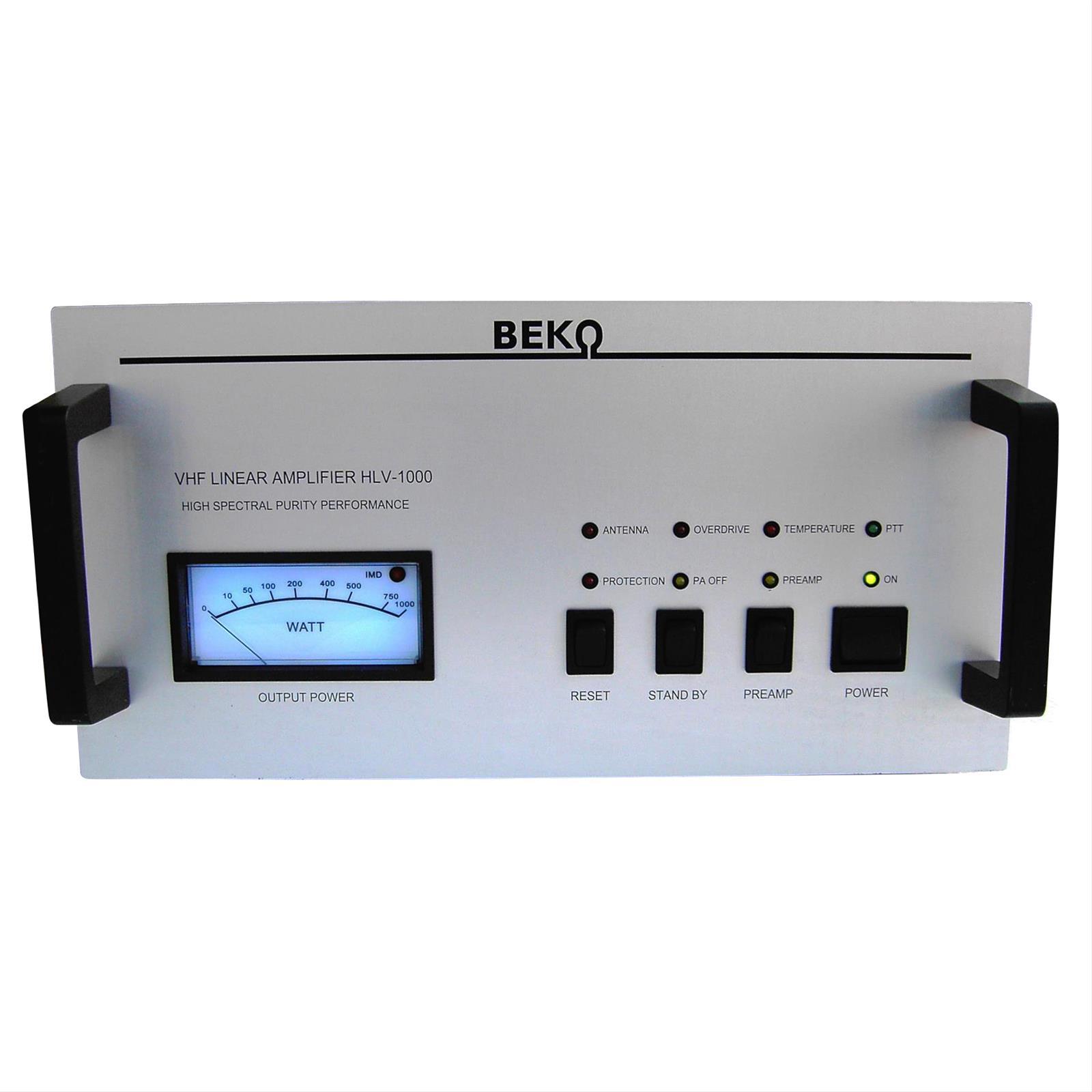 Beko Hlv-1000-222 Amplifiers Hlv-1000-222