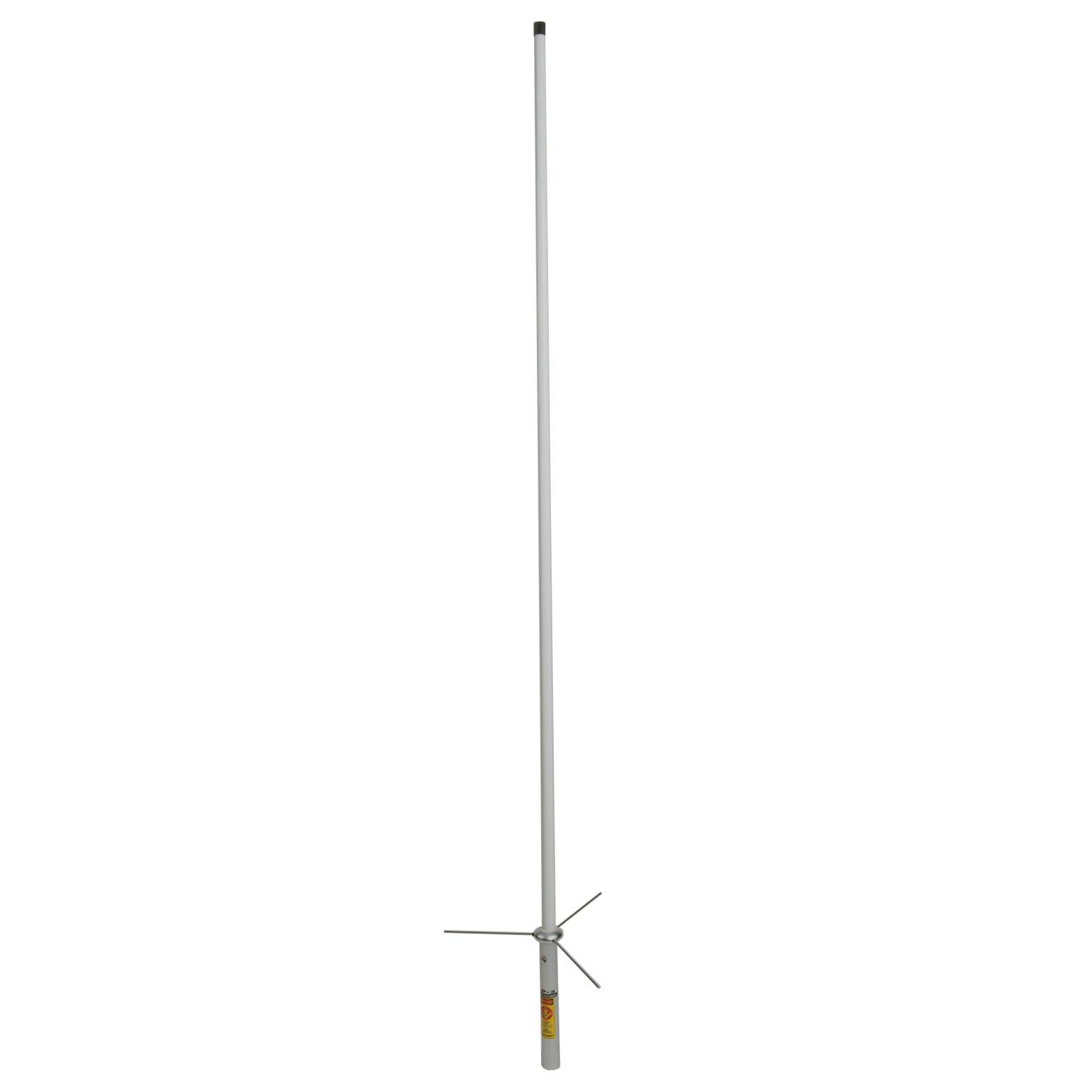 8 Ft Amateur Dual-Band UHF VHF 2-Section Fiberglass Base Radio Antenna 200 Watt