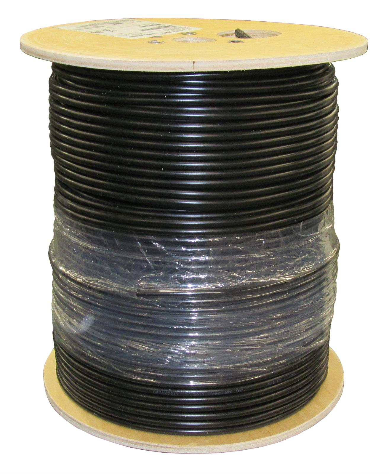 DX Engineering F6 75-ohm Bulk Coaxial Cable DXE-F6-1000 - Free ...