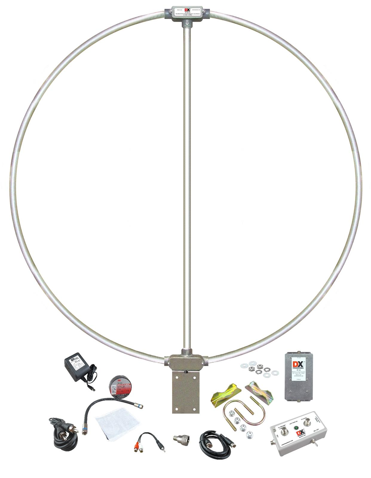 Dx Engineering Rf Pro 1b Active Magnetic Loop Antennas Dxe Antenna Circuit Diagram Free Shipping On Most Orders Over 99 At