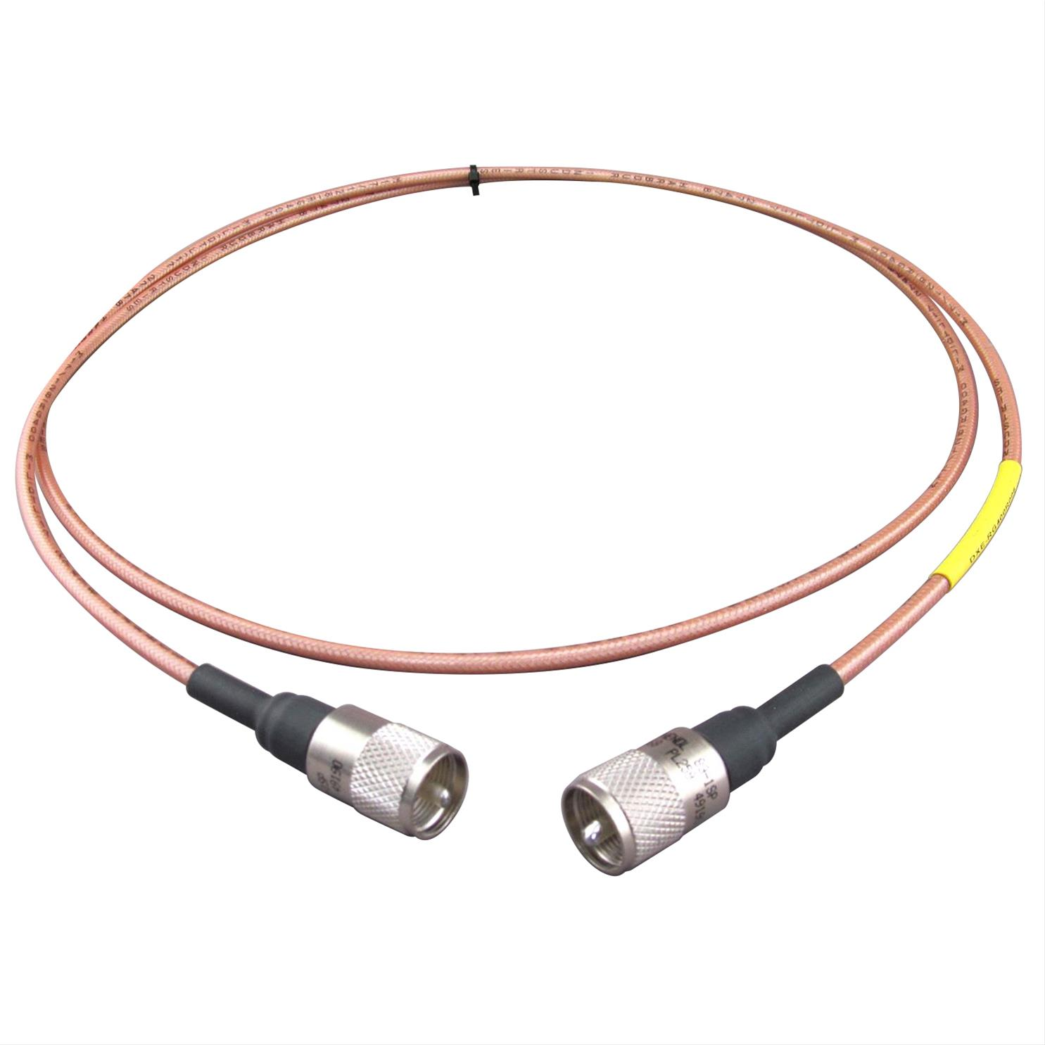 Coaxial Cable Assemblies : Dx engineering rg high isolation coaxial cable