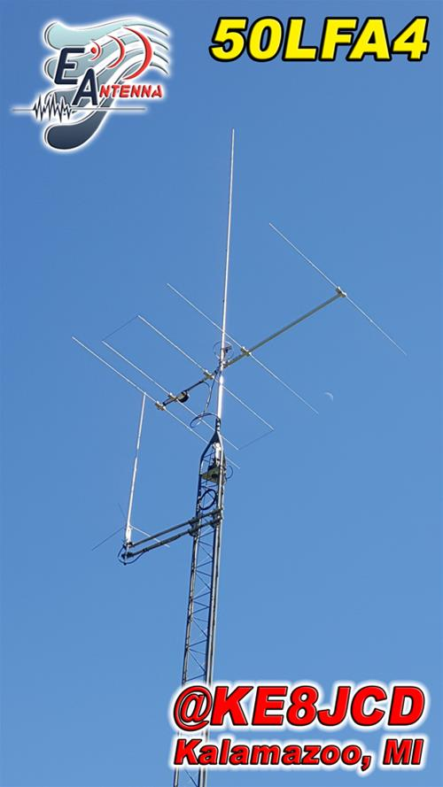 EAntenna VHF and UHF Directional Antennas 50LFA4