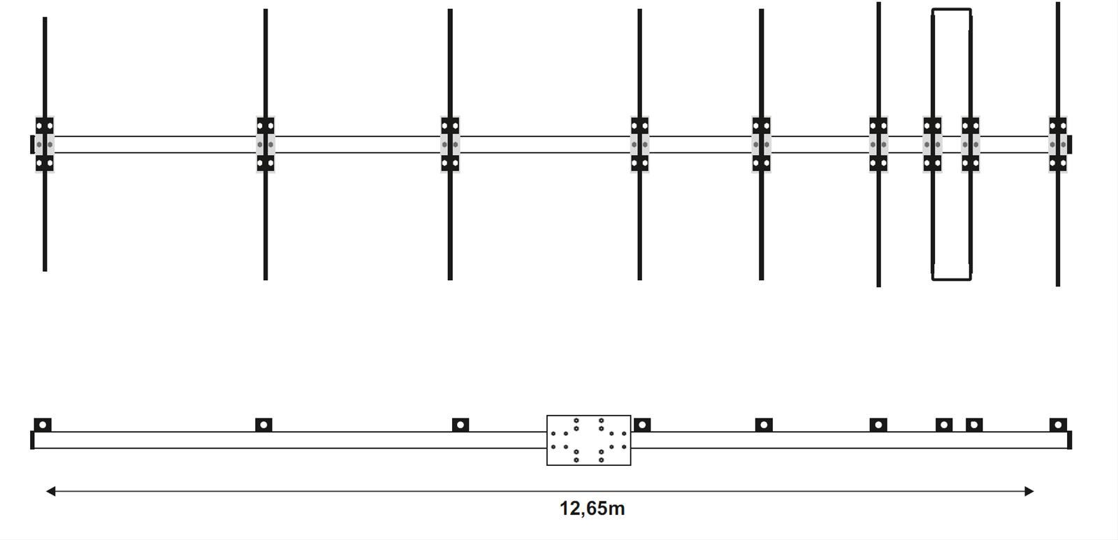 EAntenna VHF and UHF Directional Antennas 50LFA8HD