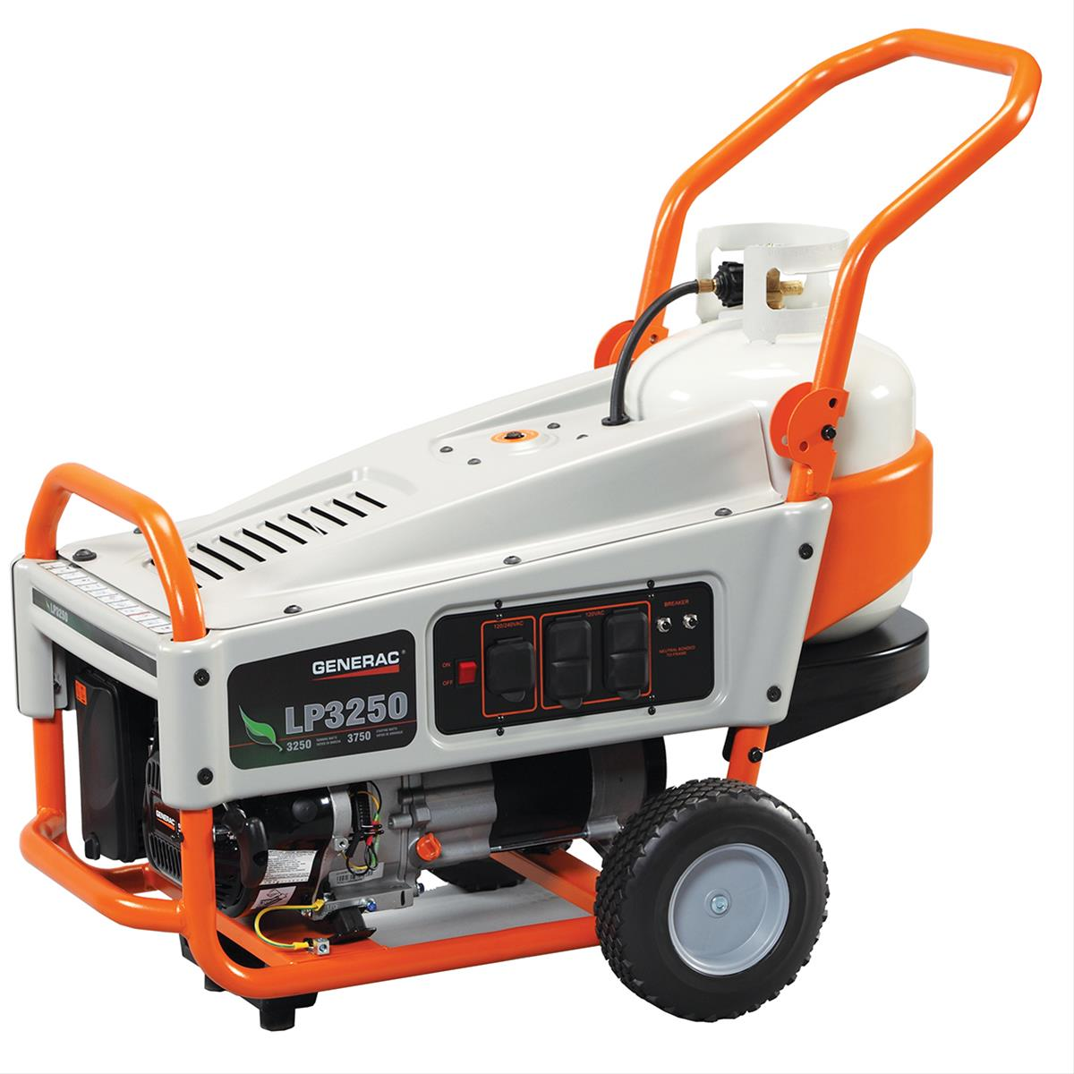 Generac LP Series Portable Propane Generators 6000 - Free Shipping