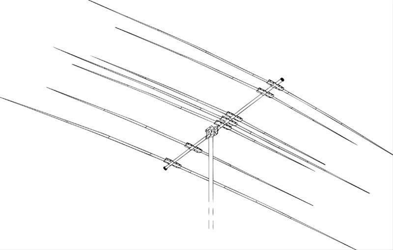 hy-gain db-1217 dual band yagi antennas db-1217