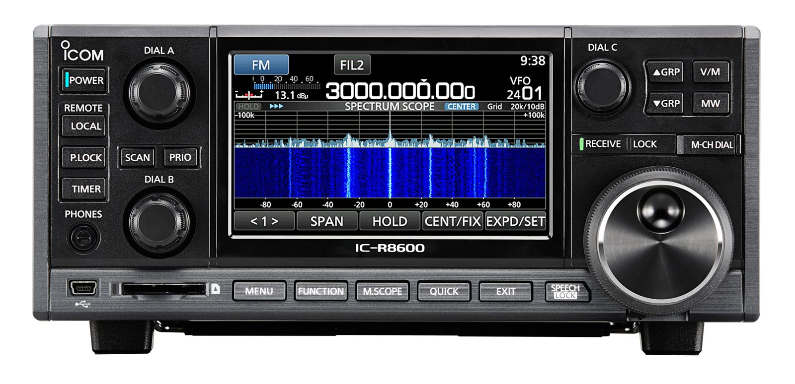ICOM IC-R8600 Communications Receivers R8600 02