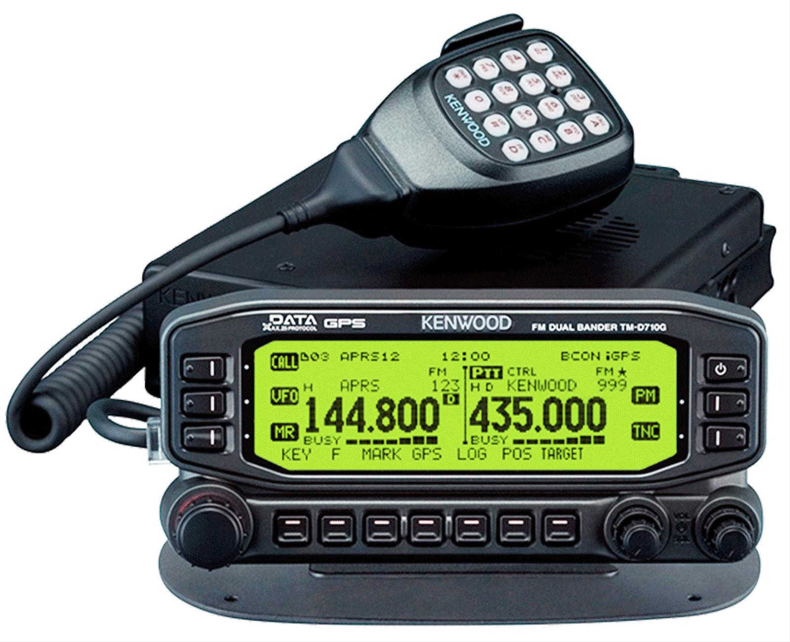 Kenwood TM-D710GA 144/440 MHz FM Dual Band Mobiles TM-D710G