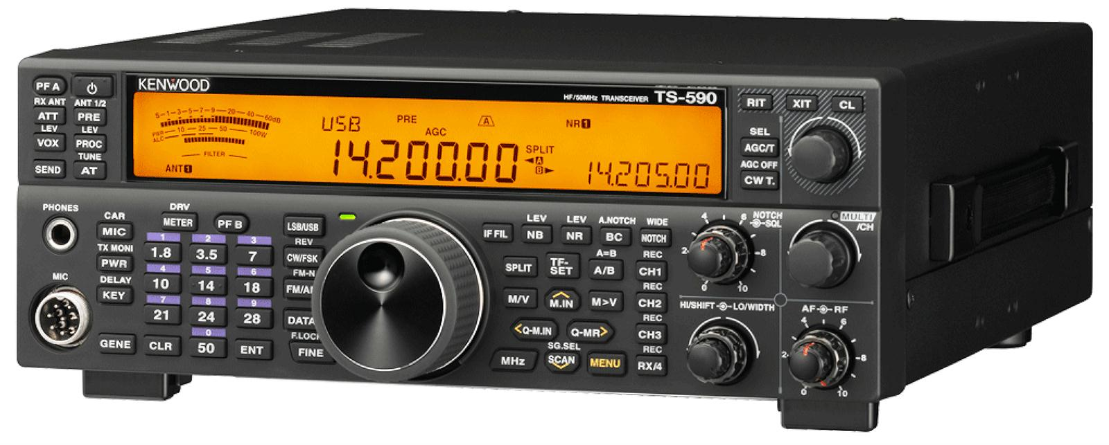 Kenwood TS-590SG HF/6 Meter Base Transceivers TS-590SG - Free Shipping on  Most Orders Over $99 at DX Engineering