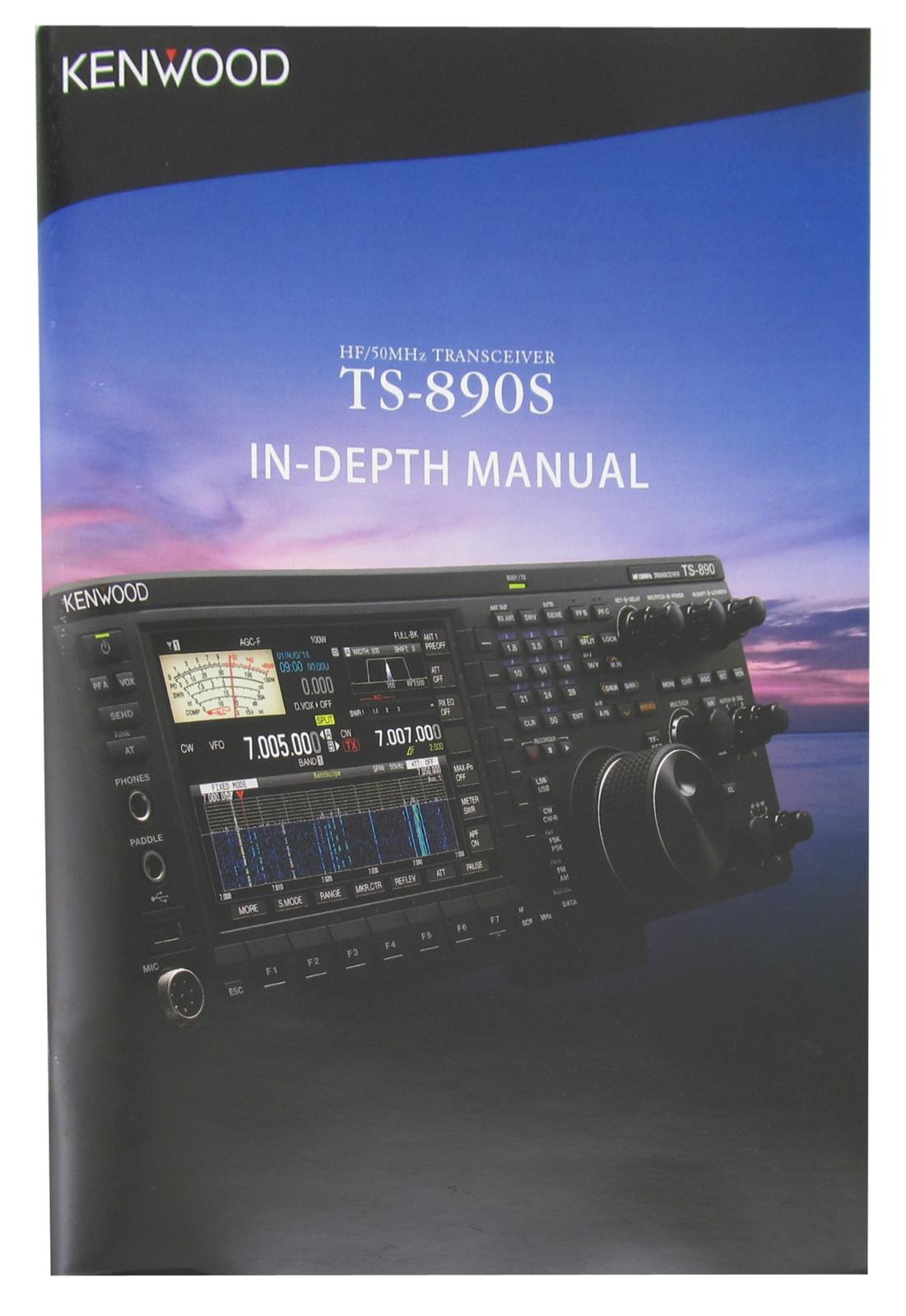 Kenwood TS-890S In-Depth Manual TS-890-GUIDE