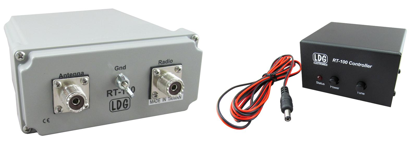 Ldg Electronics Rt 100 Combo Remote Antenna Tuners Rc Free Tuning Unit Shipping On Most Orders Over 99 At Dx Engineering