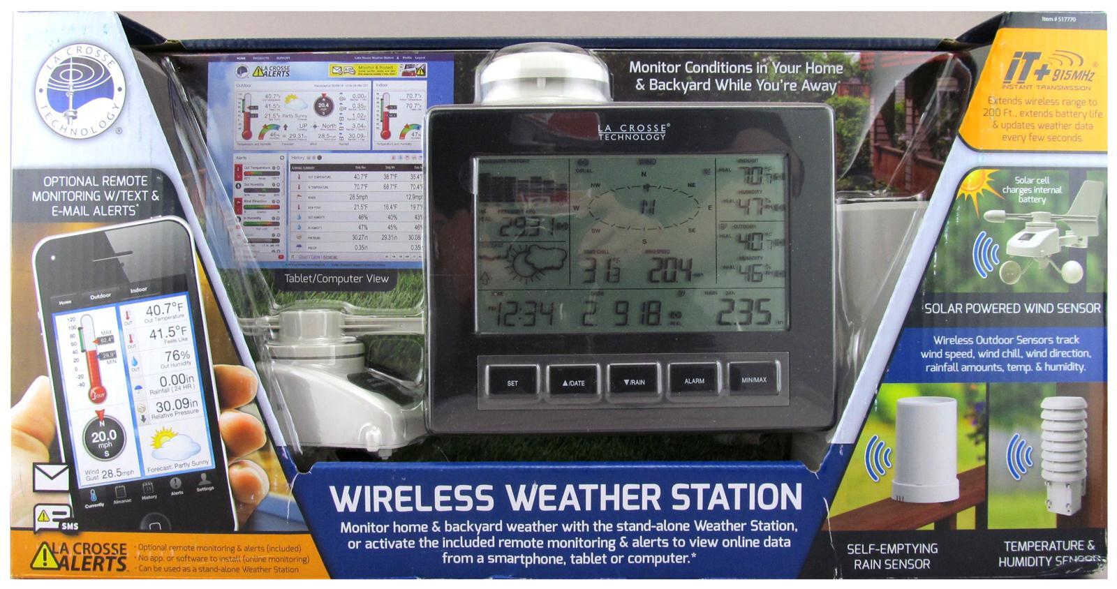 100 la crosse technology wireless weather station la crosse